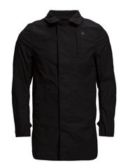 doonray trench,dock twill - black