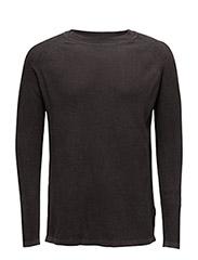Core straight r knit l - RAVEN