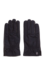 Wysel leather glove - BLACK