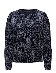 Sk fyx biker sweater women - SARTHO BLUE/MILK AO