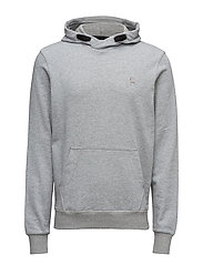 Core hooded sw l - GREY HTR