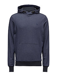Core hooded sw l - SARTHO BLUE HTR