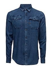 Landoh Shirt l - TOWEL BLEACH CHECK