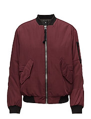 Rackam bf bomber wmn - PORT RED