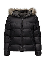 Whistler hdd down fur jkt wmn - BLACK