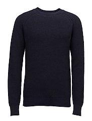Jayvi r knit l - SARTHO BLUE/BLACK