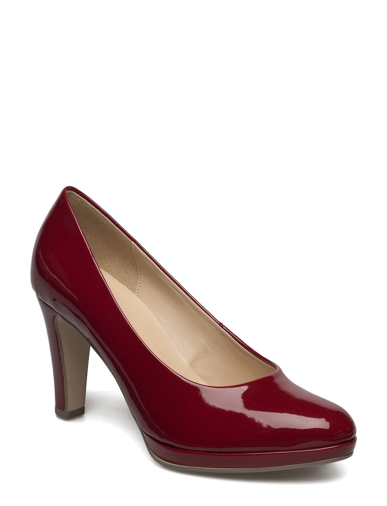 Court Shoe Gabor Sko til Kvinder i Rød