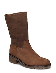 bootee - BROWN