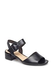 High-heeled sandal - BLACK