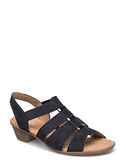 High-heeled sandal - BLUE