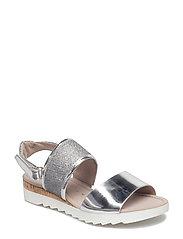 High-heeled sandal - GREY