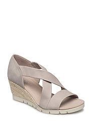 High-heeled sandal - BEIGE