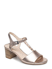 High-heeled sandal - BEIGE