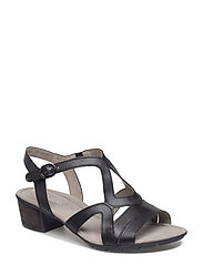 High-heeled sandal - BLACK
