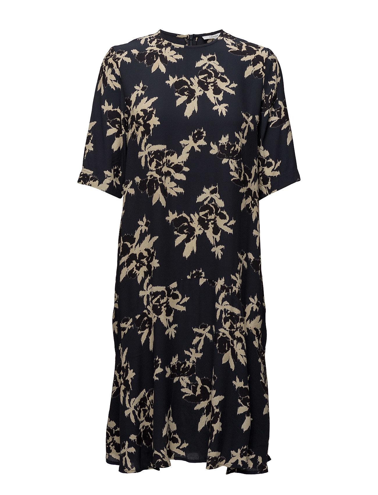 Ganni St. Pierre Crepe Dress