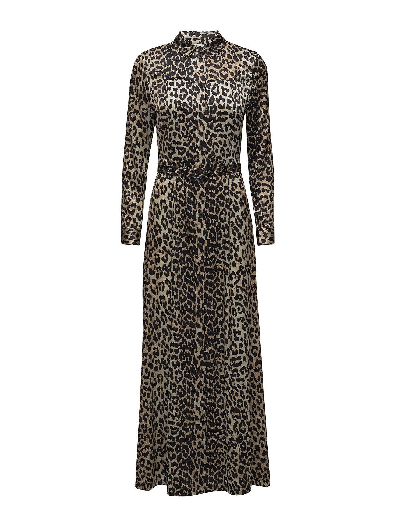 Ganni Dufort Silk Maxi Dress