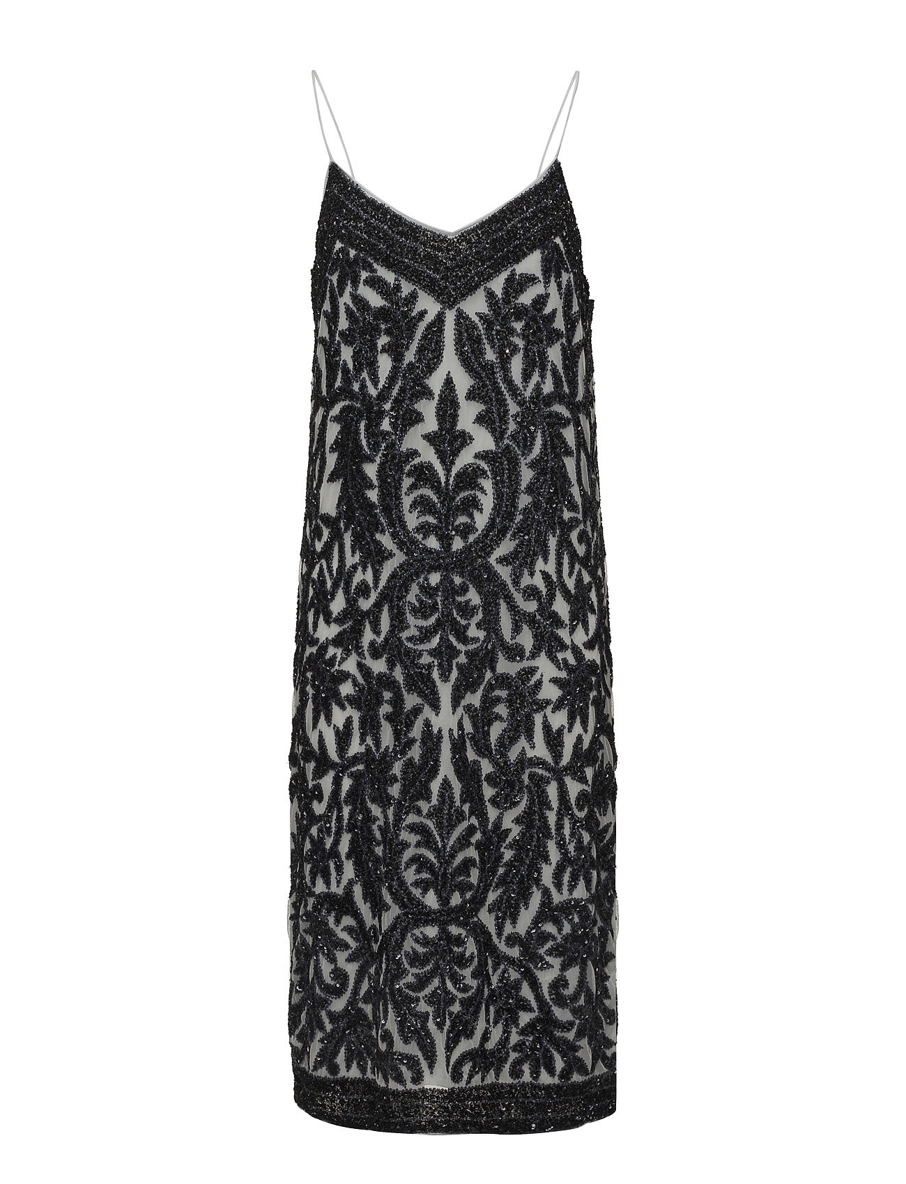 Ganni Colby Sequins Slip Dress