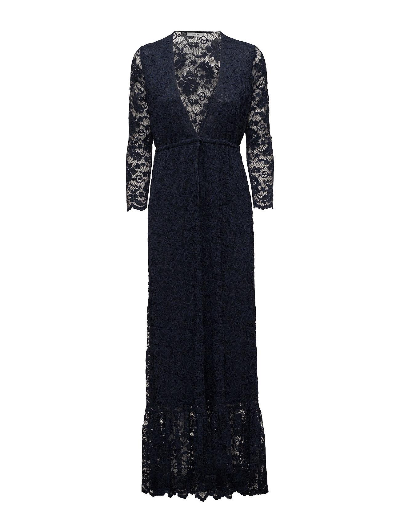 Flynn Lace Maxi Dress Ganni Dresses thumbnail
