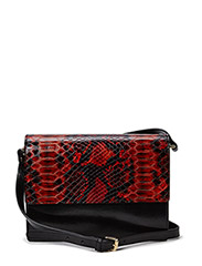 Gallery Bags - Black/Pompeian Red