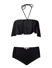 Nova Swimwear Solid - BLACK