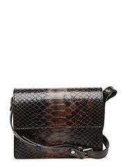 Gallery Accessories - Black/Brandy Brown Snake