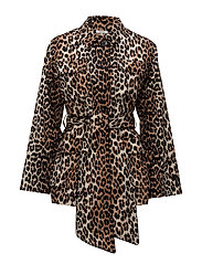 Fabre Cotton Jacket - Leopard