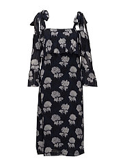 Monette Georgette Maxi Dress - Total Eclipse