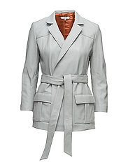 Passion Wrap Jacket - Pearl Blue