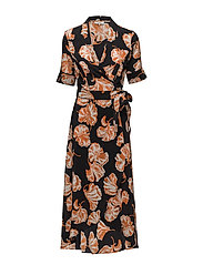 Geroux Silk Wrap Dress