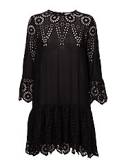 Emile Lace Dress - Black