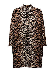 Fabre Cotton Coat - Leopard