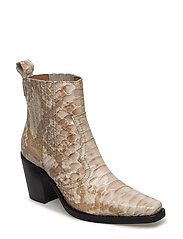 Nellie Ankle Boots - CUBAN SNAKE