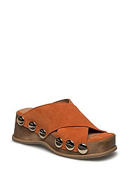 Valerie Sandals - RUSSET ORANGE