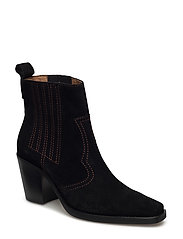 Clemence Ankle Boots - BLACK
