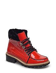 Freda Boots - BIG APPLE RED