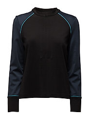 Rogers Blouse - BLACK/TOTAL ECLIPSE