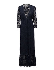 Flynn Lace Maxi Dress - Total Eclipse