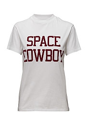 Harvard T-shirt Space Cowboy - BRIGHT WHITE