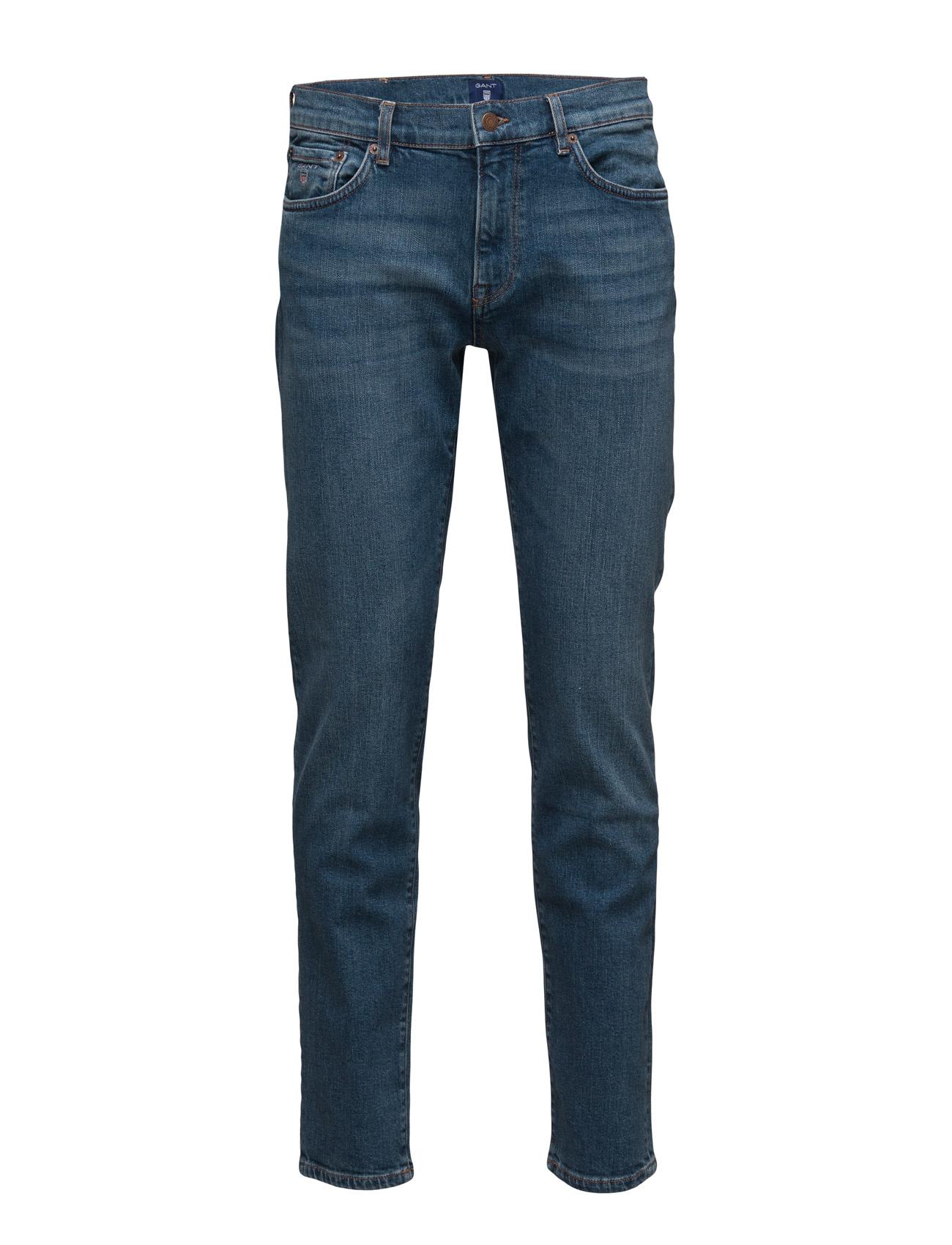 Slim Straight Gant Jean GANT Jeans til Mænd i