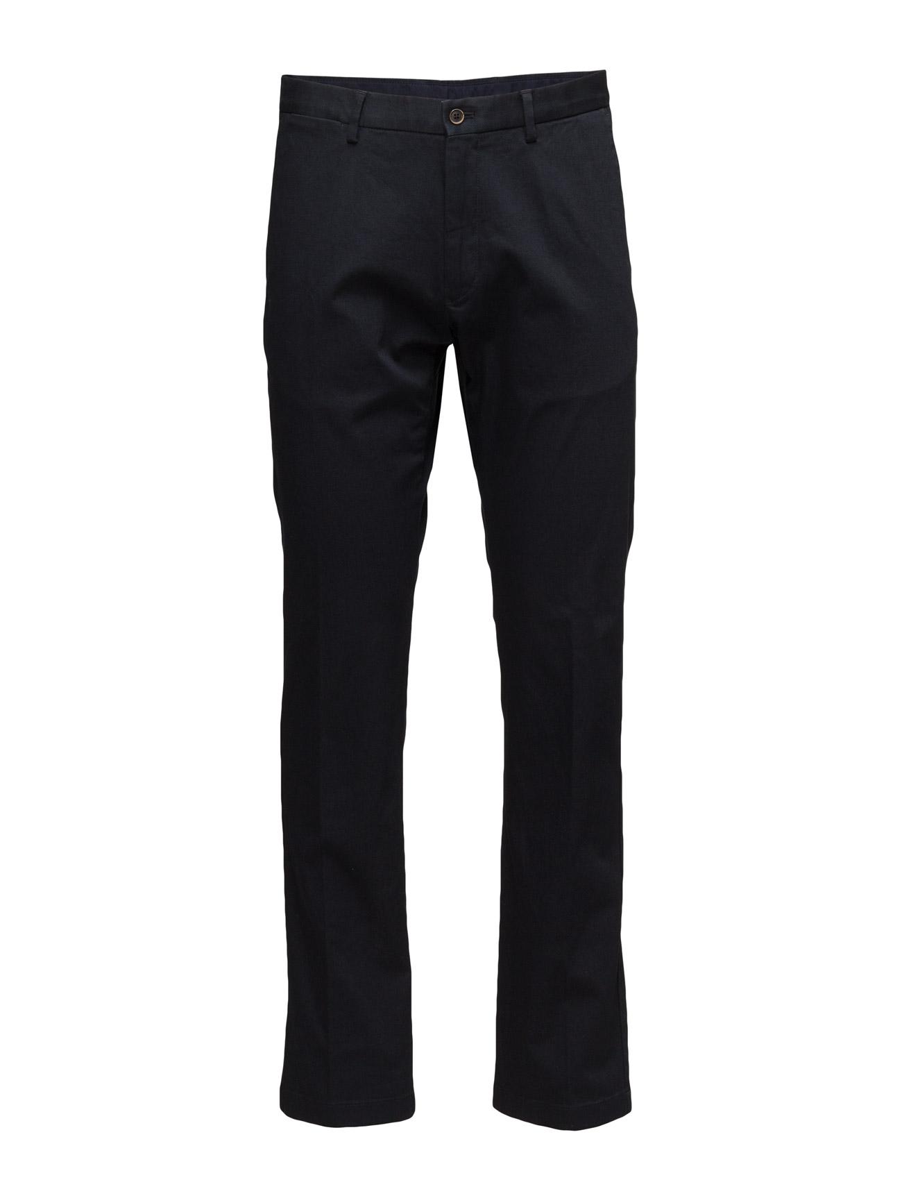 N. Regular Piqủ Comfort Pant GANT Casual sko til Mænd i Navy blå