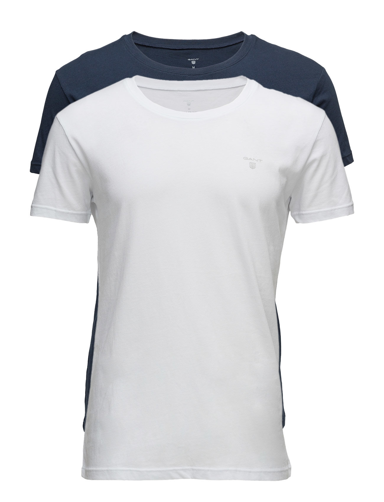 GANT BASIC 2-PACK CREW NECK T-SHIRT