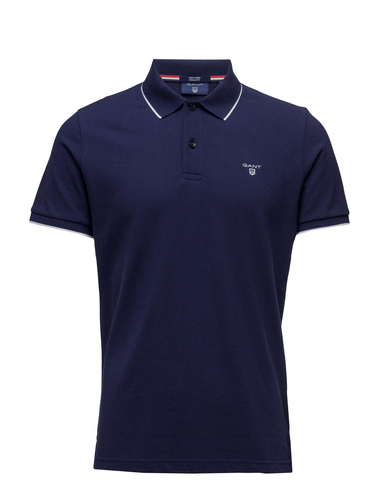 Tech Prep Pique Ss Rugger GANT Kortærmede polo t-shirts til Herrer i