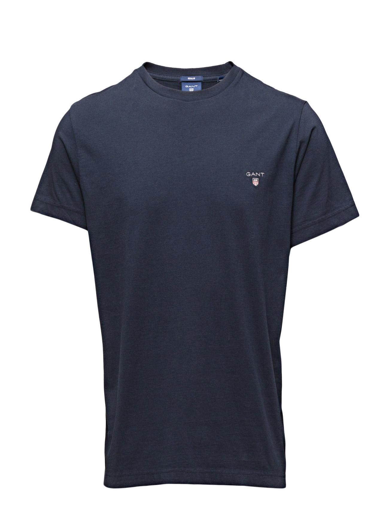 The Original T-Shirt GANT Kortærmede til Mænd i Marine blå