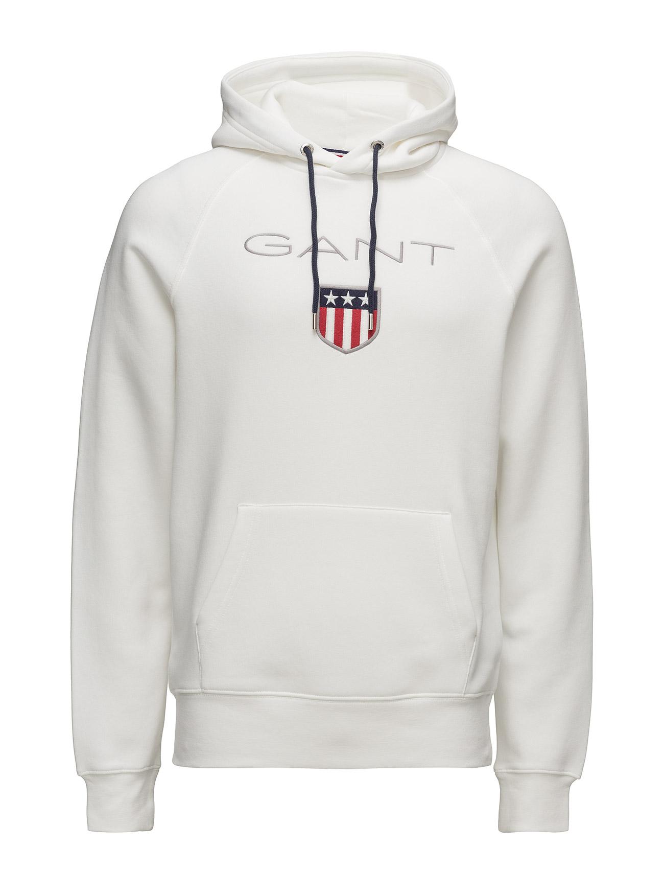 Gant Shield Sweat Hoodie GANT Hættetrøjer til Mænd i Marine blå
