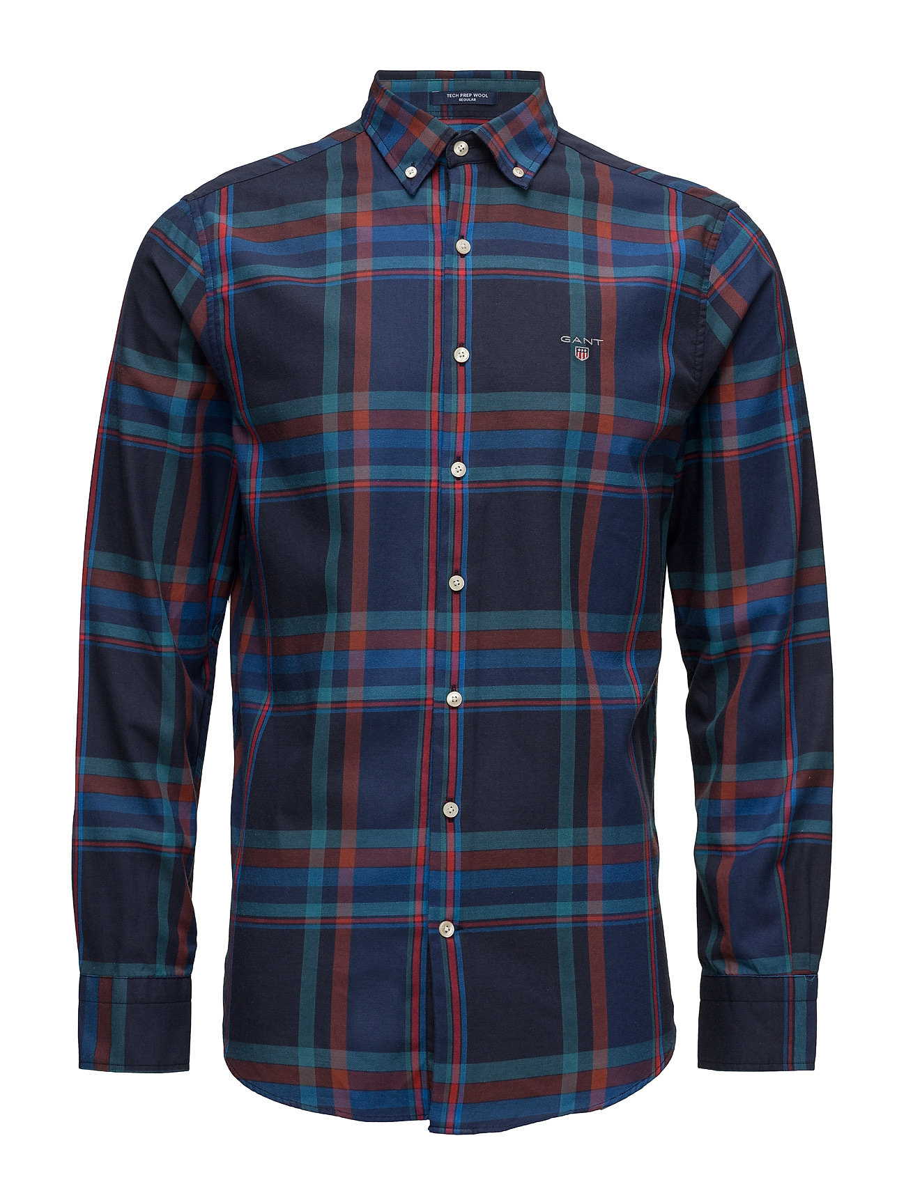 GANT O1. TECH PREP WOOL BIG CHECK REG BD