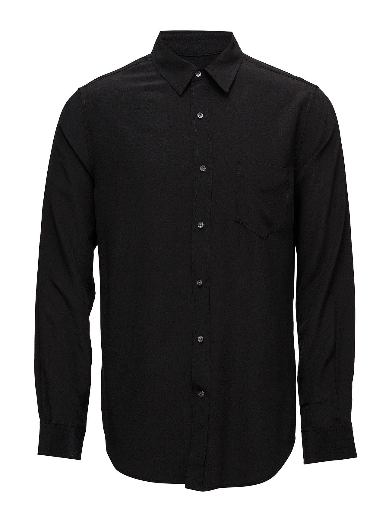 R3. The Silk Shirt Lfpc GANT Business til Mænd i Sort