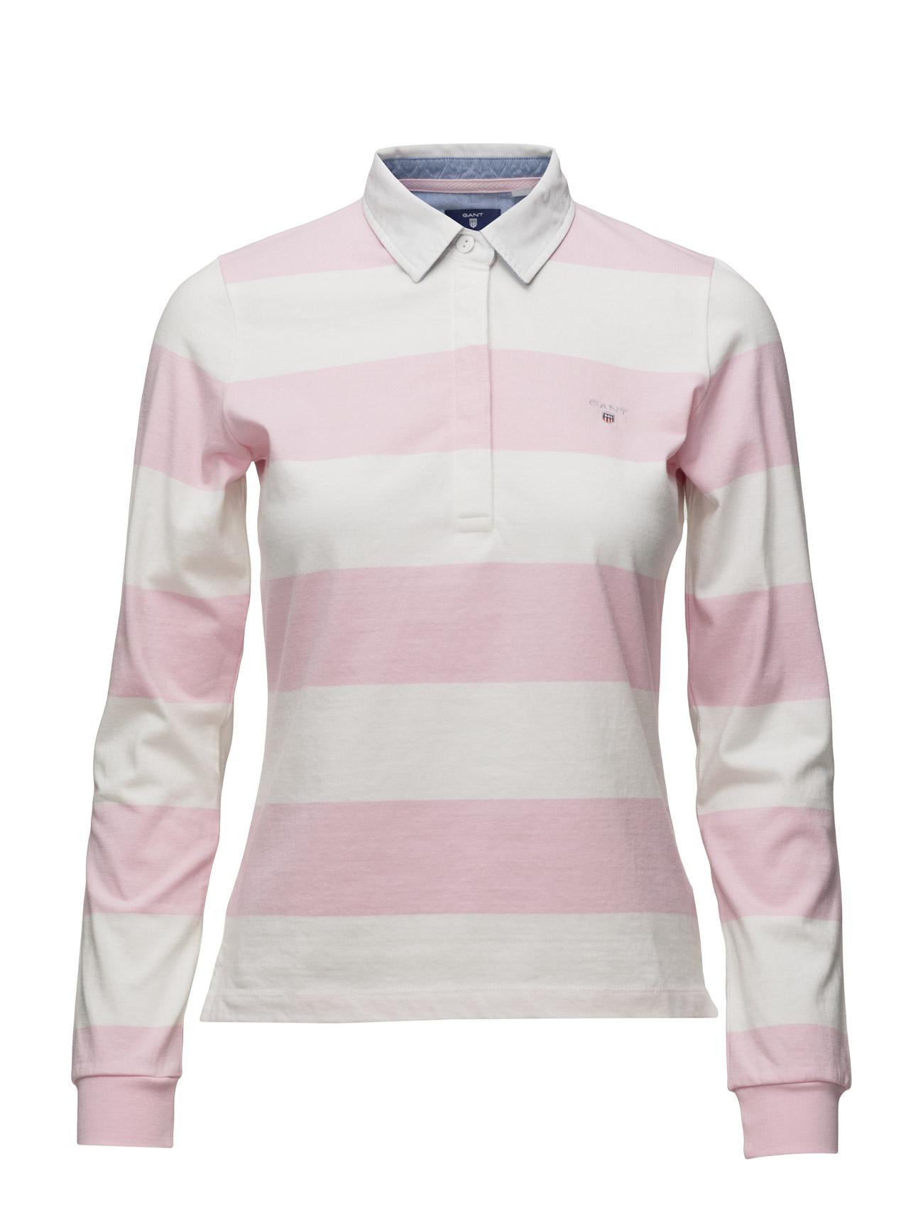 Barstripe Jersey Rugger Ls GANT Polo t-shirts til Damer i