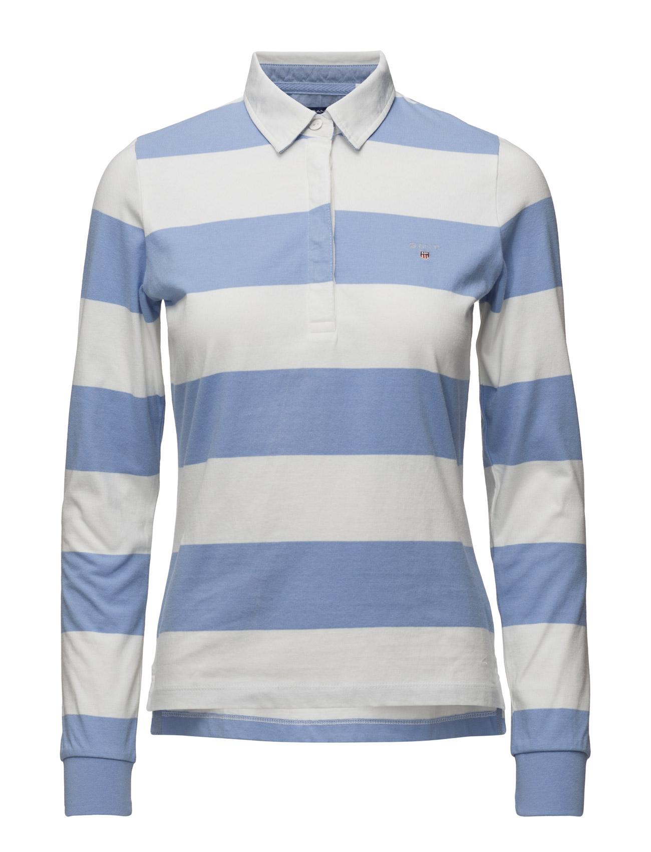 Barstripe Jersey Rugger Ls GANT T-shirts & toppe til Kvinder i