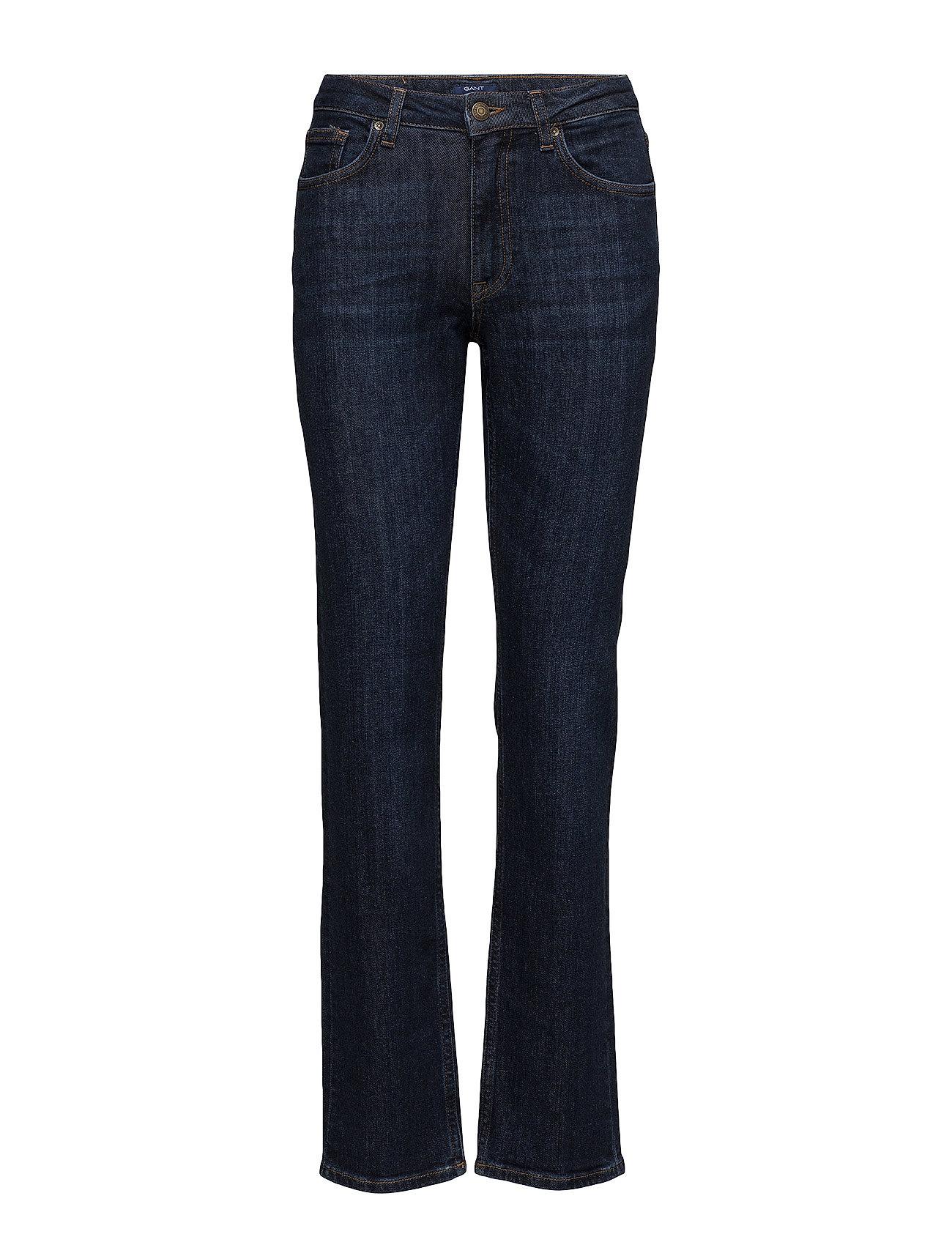 Straight Blue Denim Jean