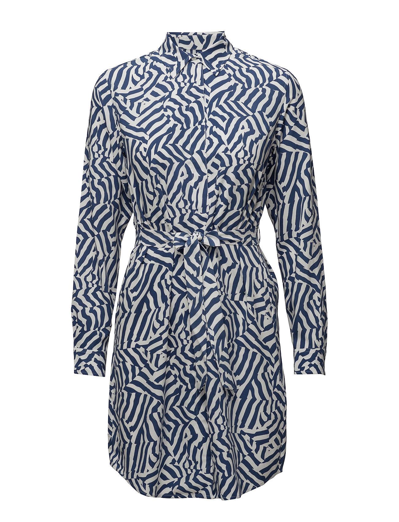 O. Camo Striped Dress GANT Kjoler til Kvinder i